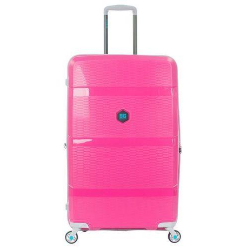Bg berlin zip2 walizka duża poszerzana antywłamaniowa 81 cm / pop pink - pop pink (6906053058781)