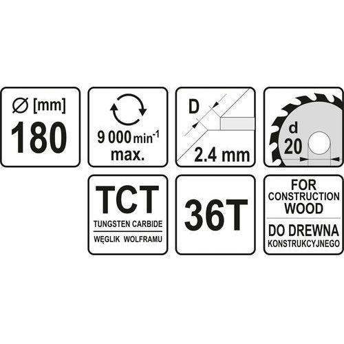 Tarcza YATO YT-60482, YT-60482