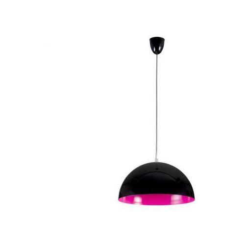 HEMISPHERE BLACK-PINK FLUO S LAMPA WISZĄCA NOWODVORSKI 5780, kolor czarny,
