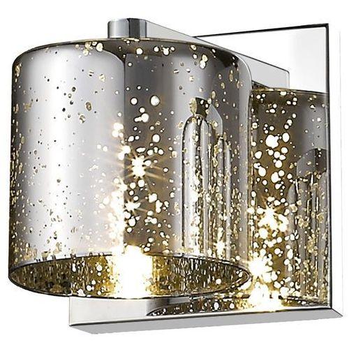 Kinkiet Zuma Line Pioli W0369-01A-B5GR lampa ścienna 1x42W G9 złoty/chrom >>> RABATUJEMY do 20% KAŻDE zamówienie!!!
