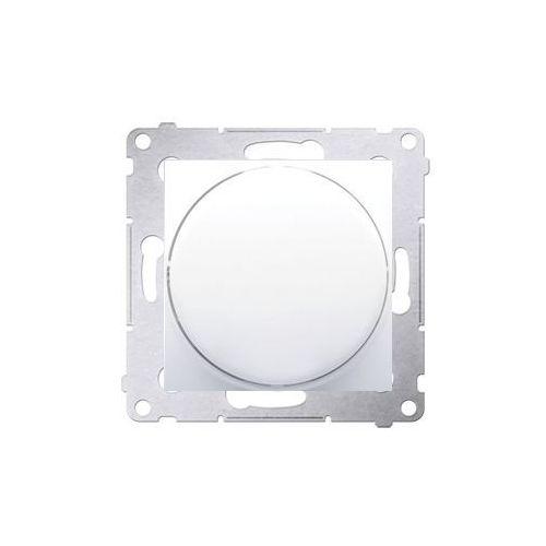 Ściemniacz Simon 54 DS9L.01/11 do LED ściemnialnych naciskowo-obrotowy jednobiegunowy biały Kontakt-Simon