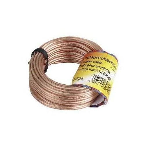 Hama Kabel głośnikowy bez końcówek 0,75mm 10m (4047443033185)