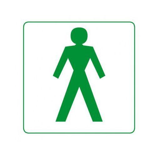 Plastikowa tabliczka na drzwi - mężczyźni marki B2b partner