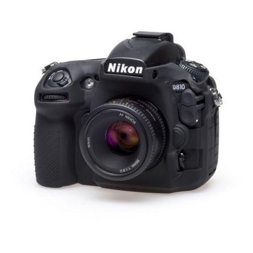 EasyCover osłona gumowa dla Nikon D810 czarna, ECND810B