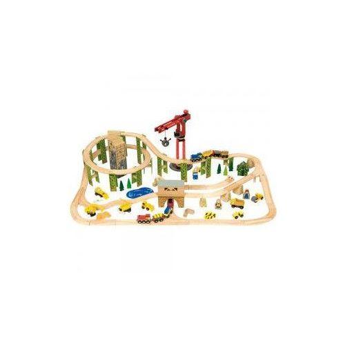 Kolejka drewniana bigjigs dla dzieci