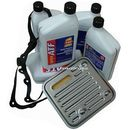 Filtr oraz olej g3 automatycznej skrzyni 4spd dodge caravan -2007 marki Elf