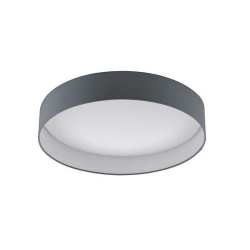 Eglo Plafon lampa sufitowa palomaro 93397 metalowa oprawa okrągła led 24w antracyt