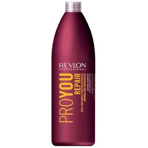 Revlon  proyou repair shampoo 1000ml w szampon do włosów regenerujący