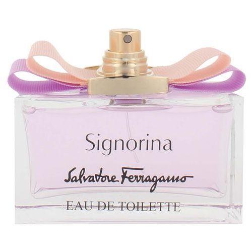 Salvatore ferragamo signorina woda toaletowa 100 ml spray tester (8595562236810)