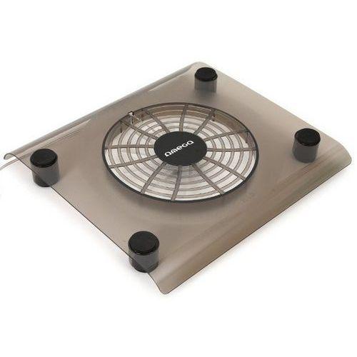 Podstawka chłodząca OMEGA do laptopa 15 cali Snowball (41912) Czarny, OMNCPB