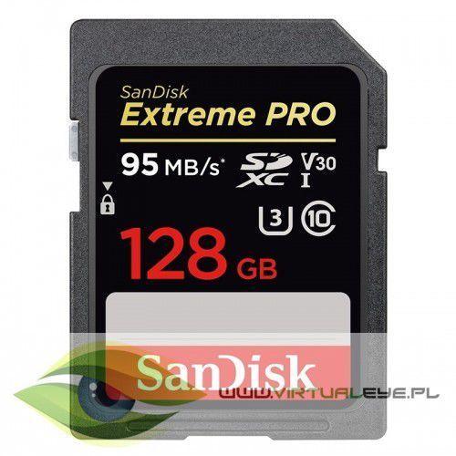 Extreme Pro SDXC 128GB 95/90 MB/s V30 UHS-I U3