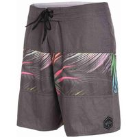 Rip curl Strój kąpielowy - rapture fill retro boardshort dark grey (1221)