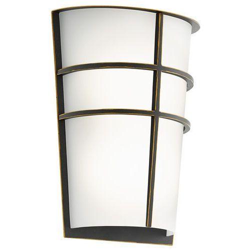 Kinkiet Eglo Breganzo 96269 lampa ścienna 2x2,5W LED brąz, 96269