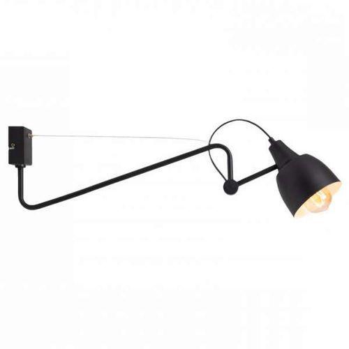 Mlamp Kinkiet lampa ścienna adx 1030c1 regulowana oprawa metalowa na wysięgniku czarna
