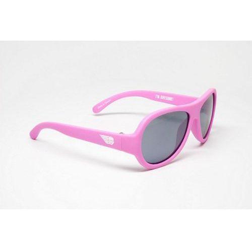 Babiators - Okulary przeciwsłoneczne dla dzieci (3-7) - Różowe