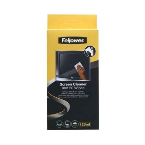 Fellowes Zestaw zestaw do czyszczenia monitorów płyn 125 ml + 10 ściereczek (0077511997013)