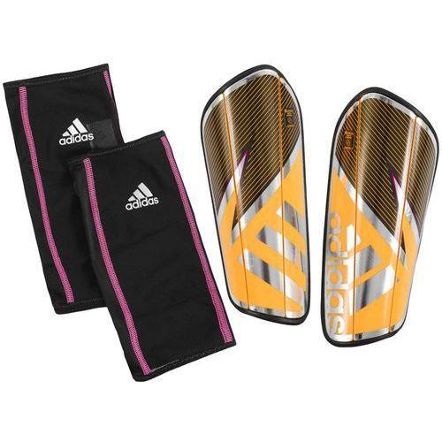 Adidas Nowe ochraniacze piłkarskie ghost pro solar gold rozmiar l