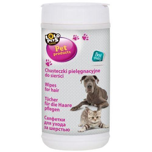 LoLo Pets Chusteczki pielęgnacyjne do sierści op. 70szt nr kat. LO-54081, 4941