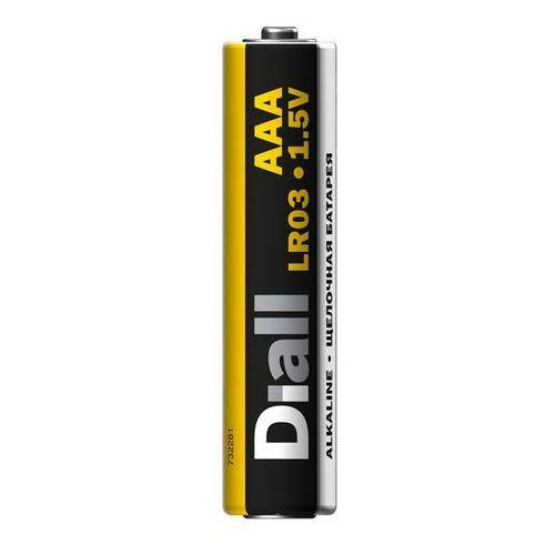 Bateria alkaliczna Diall AAA 8 szt., 4103960418