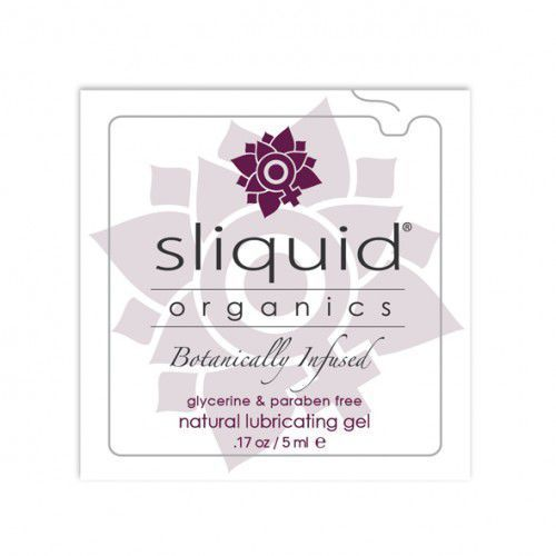Tester SASZETKA lubrykant - Sliquid Organics Natural Gel Pillow 5 ml, SLI01C