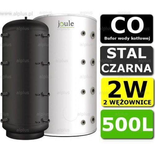 BUFOR JOULE 500L 2W zbiornik buforowy akumulacyjny CO z 2 wężownicami Wysyłka gratis!, BBMSS-00-0500F