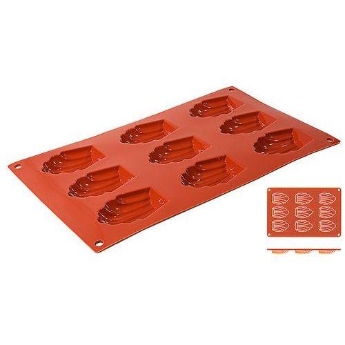 Mata silikonowa do madeleine, 9 foremek, 300x175x17 mm | , 6637/069 marki Contacto