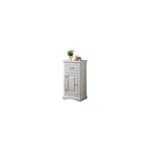 romantic szafka niska 85 1d 1s, biała marki Comad