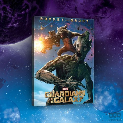 Obraz guardians of the galaxy - rocket & groot ppd2129 od producenta Consalnet