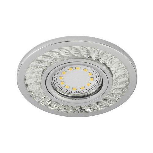 Oprawa stropowa oczko SK-92 CH/TR chrom GU10 + LED CANDELLUX