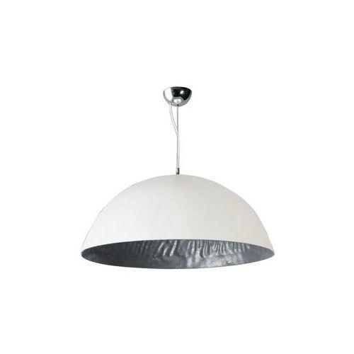 Eth Lampa wisząca loft mezzo tondo biała srebrna