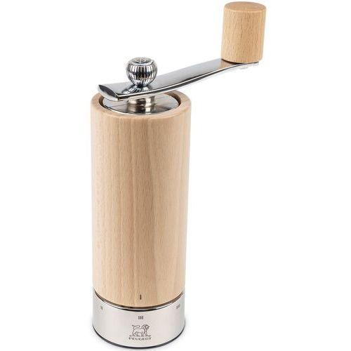 Młynek do soli z korbką, bukowy, 18 cm peugeot isen mechanizm u'select (pg-37314) (4006950037314)