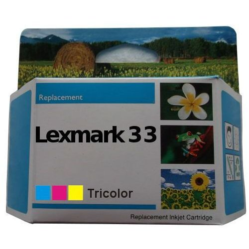 Orink Zastępczy atrament lexmark 33 [18cx033e] color 100% nowy