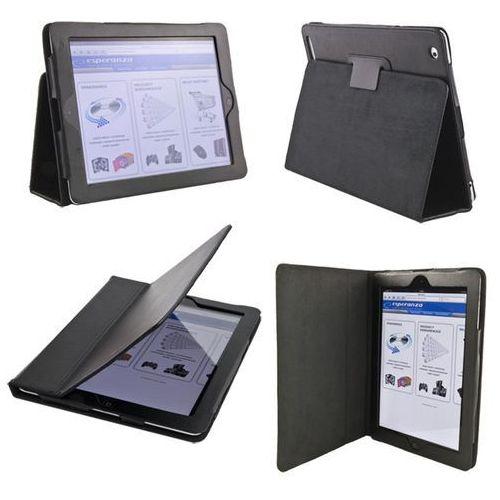 Etui na iPad Esperanza Livorno czarny, kolor czarny