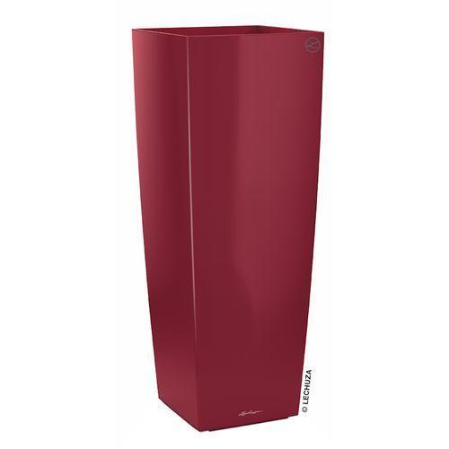 Donica Lechuza Cubico Alto czerwona scarlet red