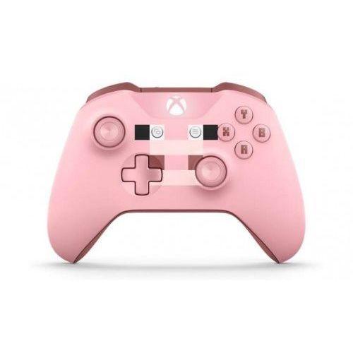 OKAZJA - Microsoft Xbox One Wireless Controller Minecraft Pig WL3-00053 (0889842182323)