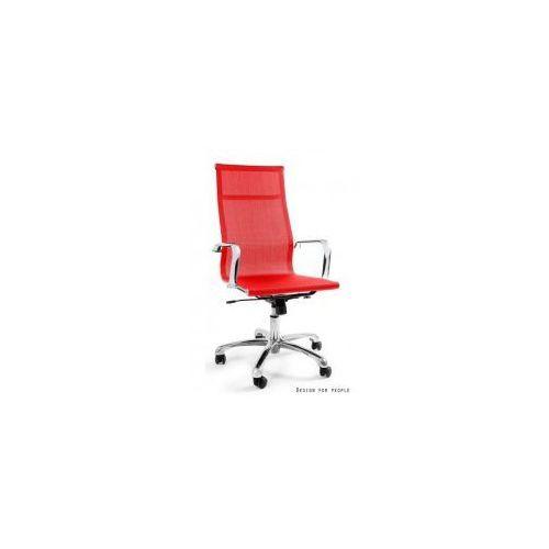 Krzesło biurowe Drafty czerwone, WX-14A-2
