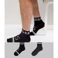 quarter socks 2 pack american heritage - black marki Tommy hilfiger