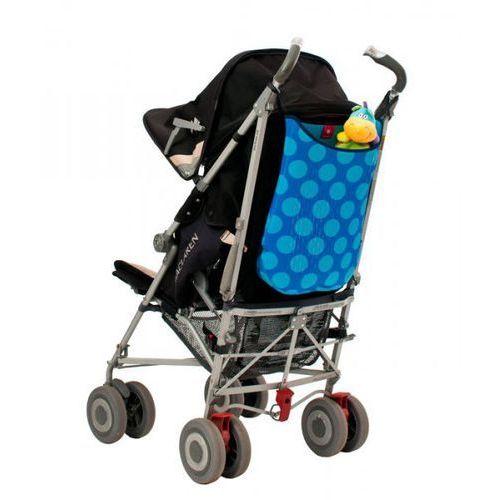 - torba do wózka z neoprenu niebieska w kropki marki Quaranta settimane