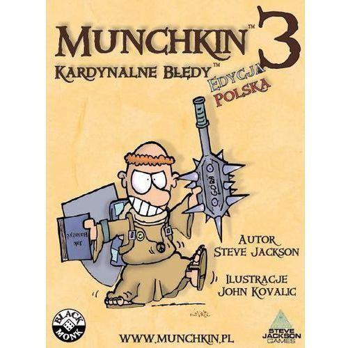 OKAZJA - Munchkin 3 kardynalne błędy marki Q-workshop