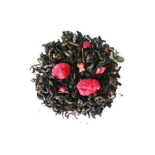 Herbata zielona o smaku malinowe marzenie 120g