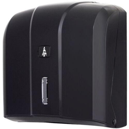Pojemnik na ręczniki papierowe składane w listkach MASTER czarny Pojemnik na ręczniki, dozownik do ręczników