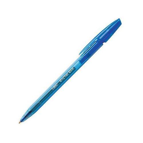 Bic długopis automatyczny cristal clic jednorazowy, niebieski