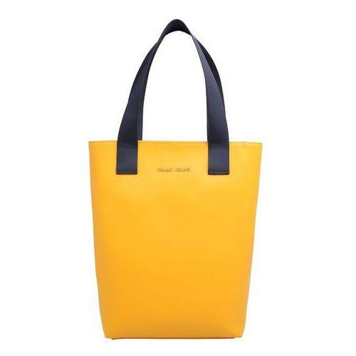 Tommy Jeans Torba shopper 'TJW FEMME PU TOTE' żółty