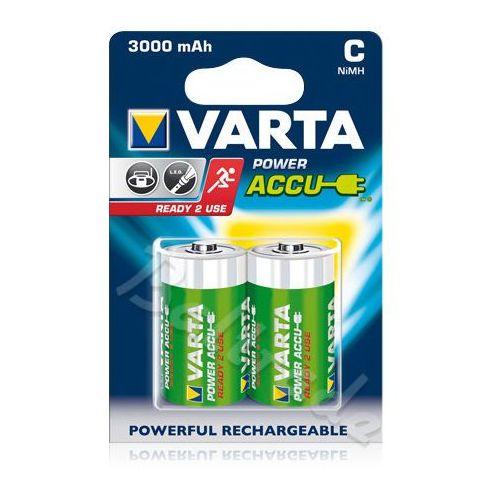 Varta 2 x akumulatorki  r14 c r2u ni-mh 3000mah