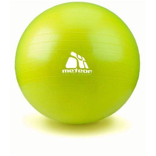 METEOR 31174 65 cm - Piłka gimnastyczna z pompką - zielony