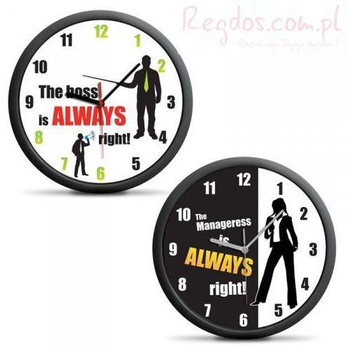 Zegar dla szefa/szefowej (en) wyprodukowany przez Gadget factory