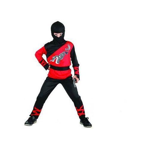Kostium dziecięcy smoczy ninja - l - 131/140 cm marki Go