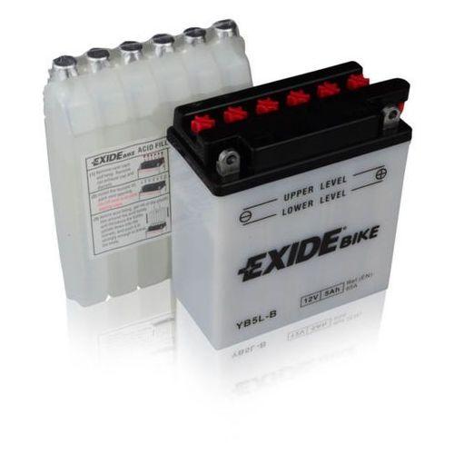 Akumulator motocyklowy eb5l-b / yb5l-b 12v 5a 65en p+ marki Exide