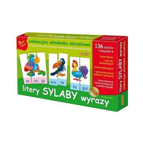 Zestaw Edukacyjny Litery Sylaby Wyrazy (5902410006076)
