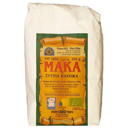Mąka żytnia razowa typ 2000 900 g Sante
